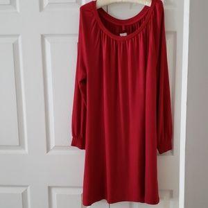 Red Lou & Grey swing dress